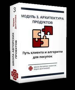 Модуль 3. Архитектура продуктов